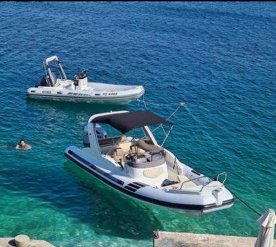 Rental RIB in Trogir - Solemar 23 offshore