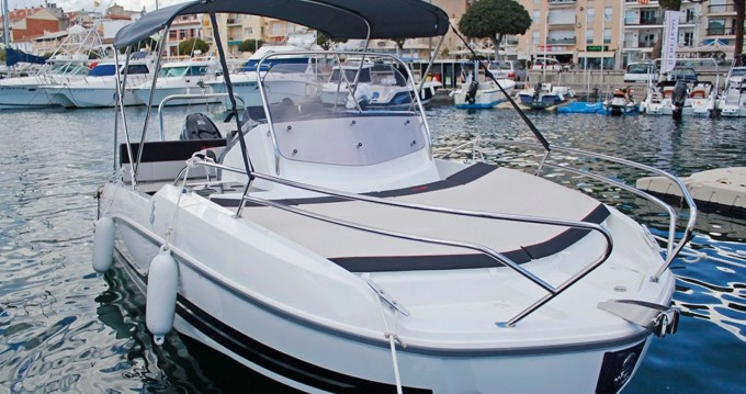 Boat rental Blanes cheap Flyer 5.5 SUNdeck