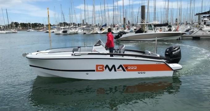 Rental Motorboat in La Trinité-sur-Mer - BMA BMA X222