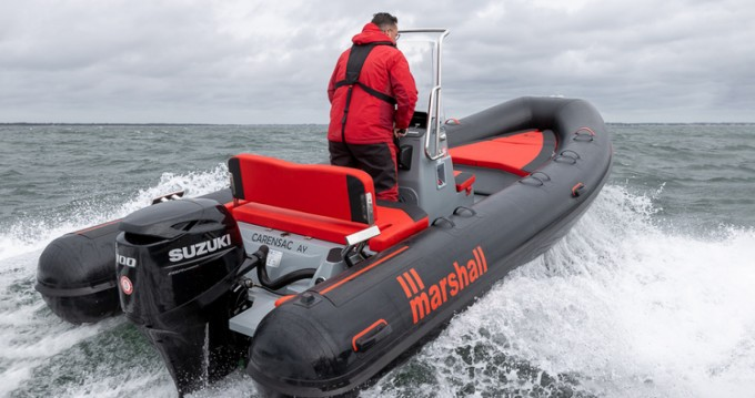 Hire RIB with or without skipper Marshall La Trinité-sur-Mer