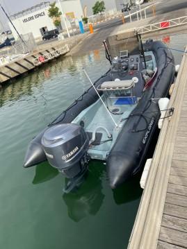 Boat rental Bombard Explorer 690 Neo in Canet-en-Roussillon on Samboat