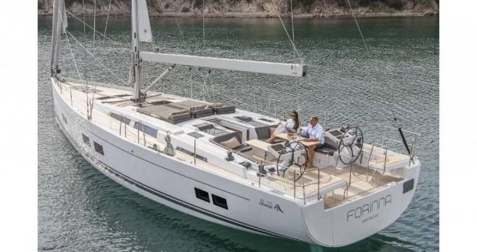 Boat rental Sant Antoni de Portmany cheap Hanse 508