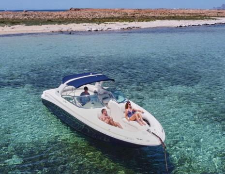 Rental yacht Ibiza Island - Sea Ray Sea Ray 295 Bow Rider on SamBoat