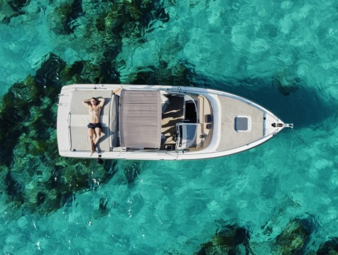 Boat rental Cranchi Clipper 760 in Ibiza Island on Samboat