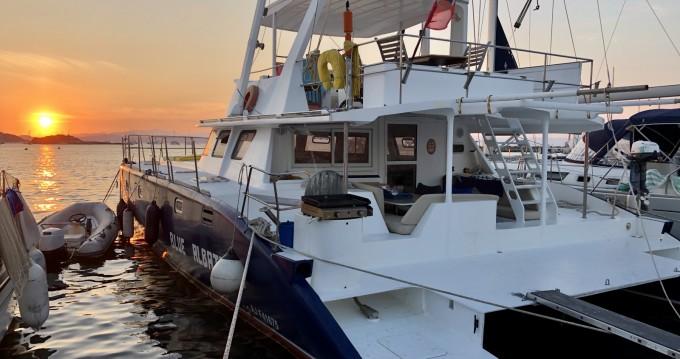 Rental Catamaran in Porquerolles - Tropic Composites Niominka 47