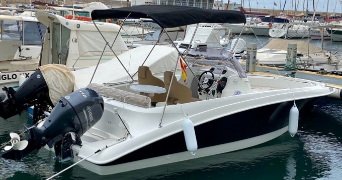 Boat rental Fornells cheap 620