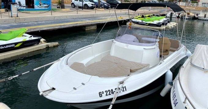 Hire Motorboat with or without skipper Remus Fornells