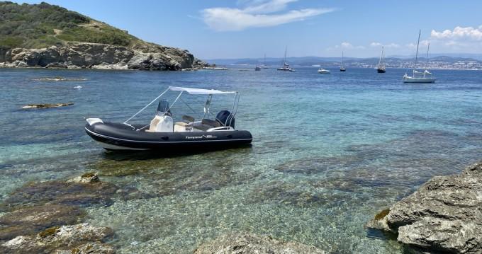 Boat rental Six-Fours-les-Plages cheap Tempest 650 Open