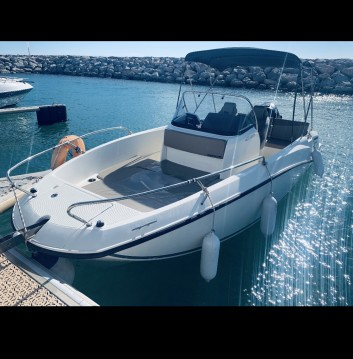 Hire Motorboat with or without skipper Quicksilver La Grande-Motte
