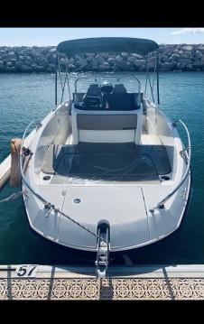 Boat rental Quicksilver Activ 605 Open in La Grande-Motte on Samboat