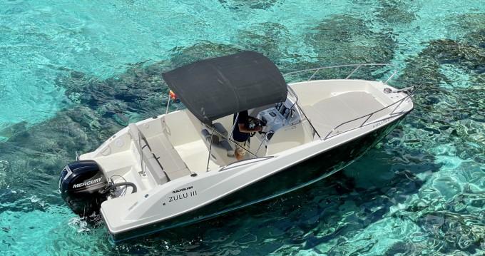 Boat rental Quicksilver Activ 675 Open Sport in Mahón on Samboat