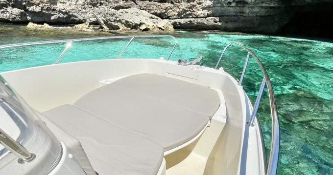 Hire Motorboat with or without skipper Quicksilver Mahón
