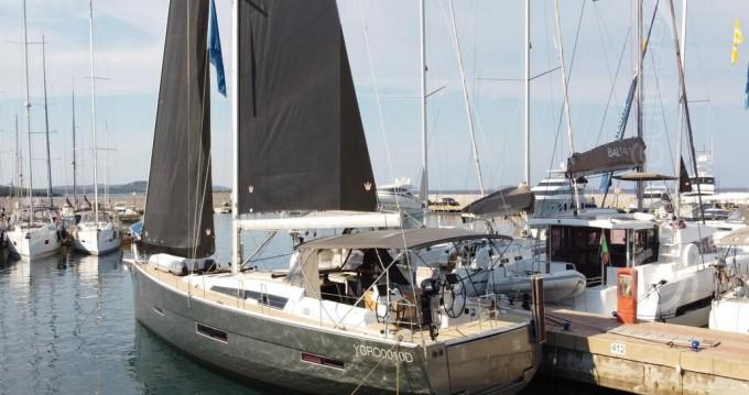Rental Sailboat in Porto Rotondo - Dufour Dufour 56 Exclusive 2021