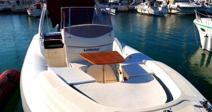 Hire RIB with or without skipper Lomac Porto Rotondo