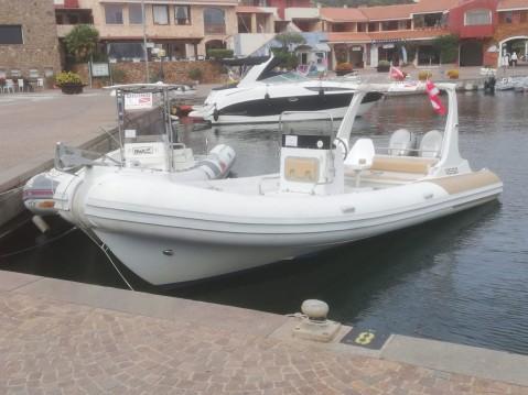 Hire RIB with or without skipper Sacs Porto Rotondo