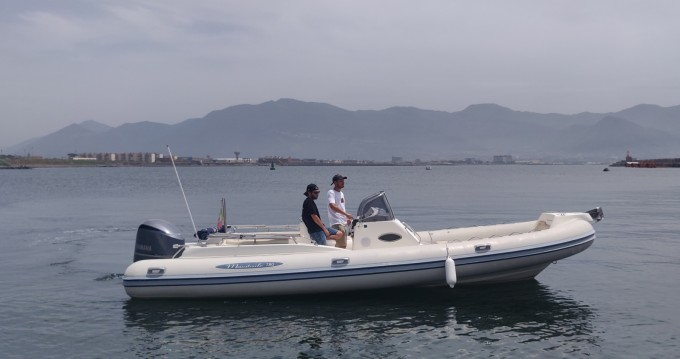 Hire RIB with or without skipper Mestrale Torre Annunziata