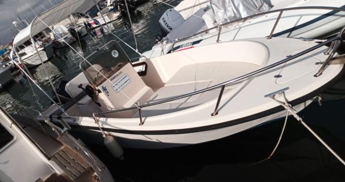 Boat rental Alghero cheap Omnia Open