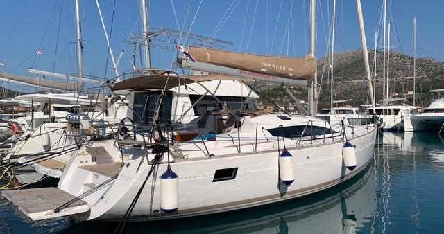 Rental Sailboat in Slano - Elan Impression 45