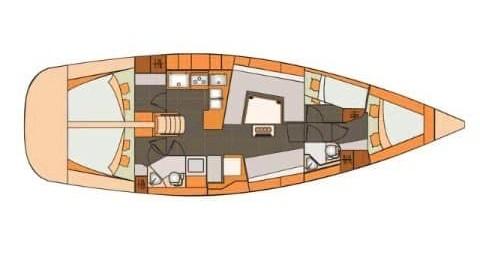 Rental yacht Slano - Elan Impression 45 on SamBoat