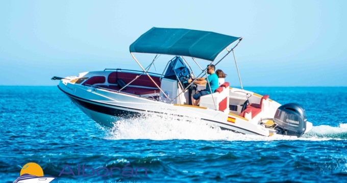 Hire Motorboat with or without skipper Nireus Nerja