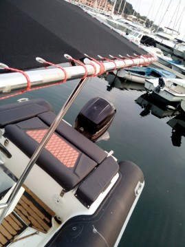 Hire RIB with or without skipper Ris Marine Vrsar