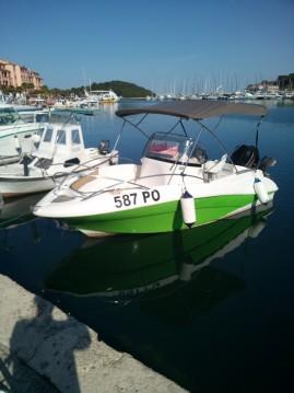 Boat rental Vrsar cheap Commander 555