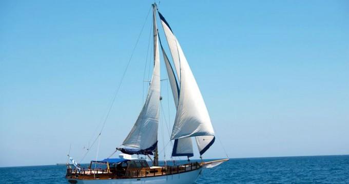Boat rental Agios Nikolaos cheap Custom made cutter
