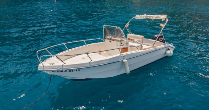 Hire Motorboat with or without skipper Capelli l'Estartit