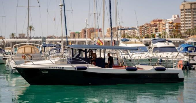 Boat rental Fuengirola cheap 40 pro
