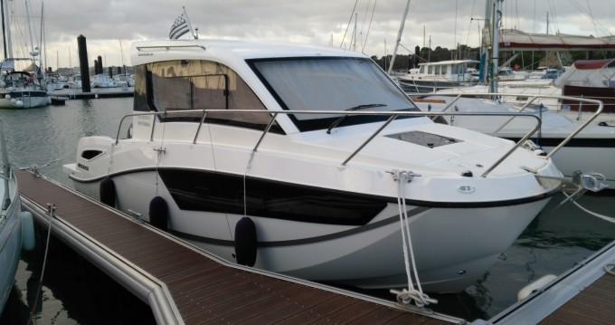 Rental Motorboat in Roscoff - Quicksilver Activ 755 Weekend