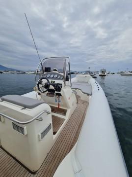 Hire RIB with or without skipper Nuova Jolly Porto di Mergellina
