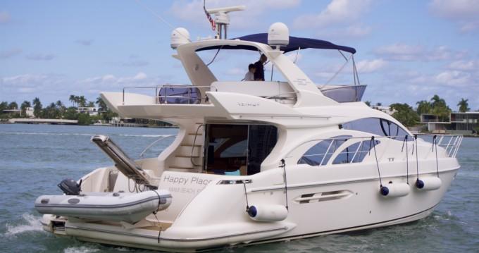 Boat rental South Miami Beach cheap Azimut 50 Fly