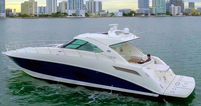 Boat rental South Miami Beach cheap Sea Ray 540 Sundancer