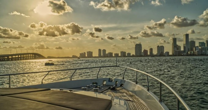 Hire Yacht with or without skipper Ferretti South Miami Beach