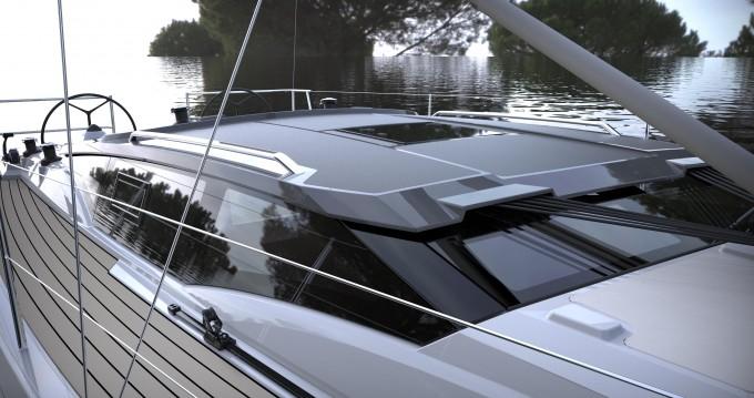 Rental Sailboat in Wilkasy - Northman Maxus 34