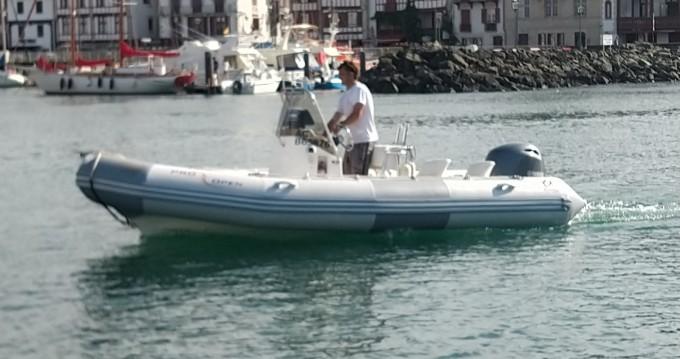 Hire RIB with or without skipper Zodiac Saint-Jean-de-Luz