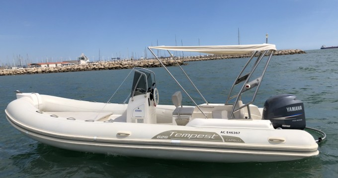 Hire RIB with or without skipper Capelli Carro