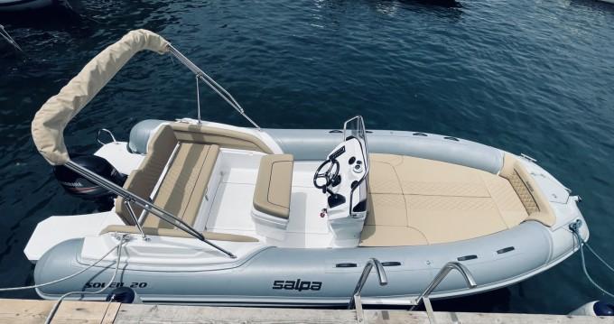 Rental yacht Sorrento - Salpa soleil 20 on SamBoat