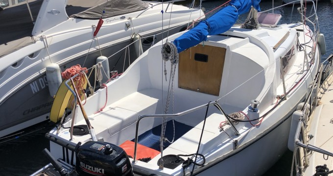 Hire Sailboat with or without skipper Cnso Cannes