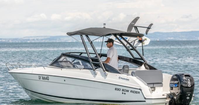Rental Motorboat in Sciez - Parker 630 bowrider