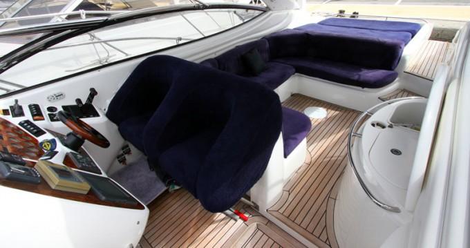Rental Motorboat in Port Hercule - Sunseeker Superhawk 48