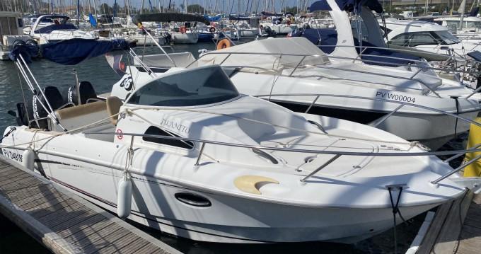 Rental Motorboat in Saint-Cyprien - Bénéteau Flyer 750 WA