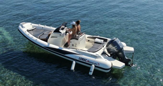 Boat rental Lomac Adrenalina 7.0 in Port Cogolin on Samboat