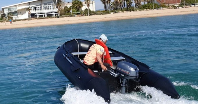 Rental RIB Seawalker with a permit
