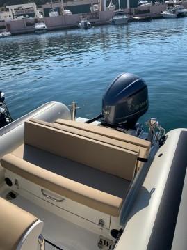 Rental RIB in Porto Cervo - Sea Water Smeralda 250