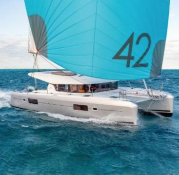 Boat rental Mahé cheap Lagoon 42