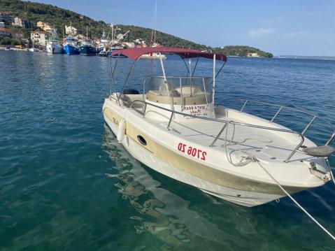 Boat rental Zadar cheap Mignolla 22