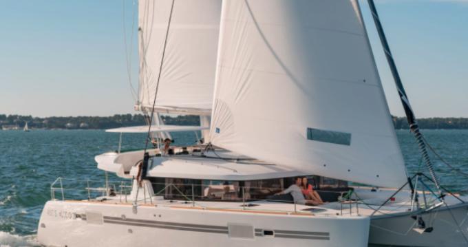 Rental yacht Mahé - Lagoon Lagoon 450 F on SamBoat