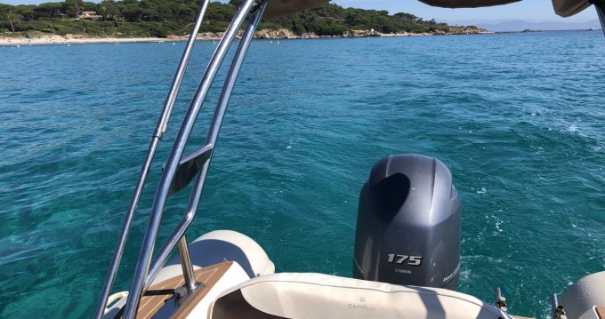 Capelli Tempest 650 between personal and professional Saint-Tropez