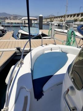 Boat rental Málaga cheap 19 open plus